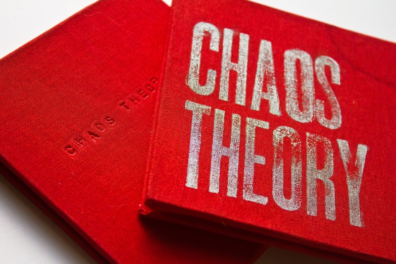 Alternate covers for Chaos Theory by Kate Brady