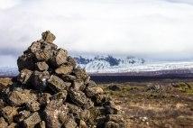 Iceland-Pingvellir-National-Park-Trail-Marker